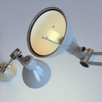 antifoni desk and standing lamp 2 pack 3d model max 101926