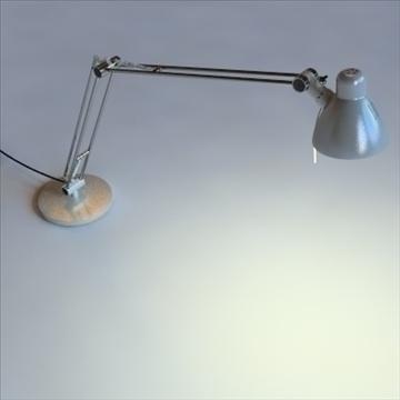 antifoni desk and standing lamp 2 pack 3d model max 101928
