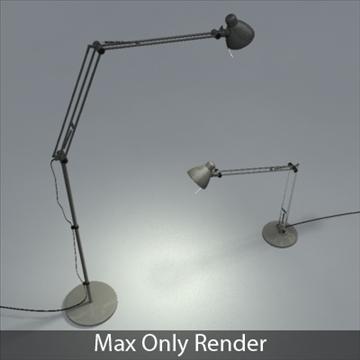 antifoni desk and standing lamp 2 pack 3d model max 101933