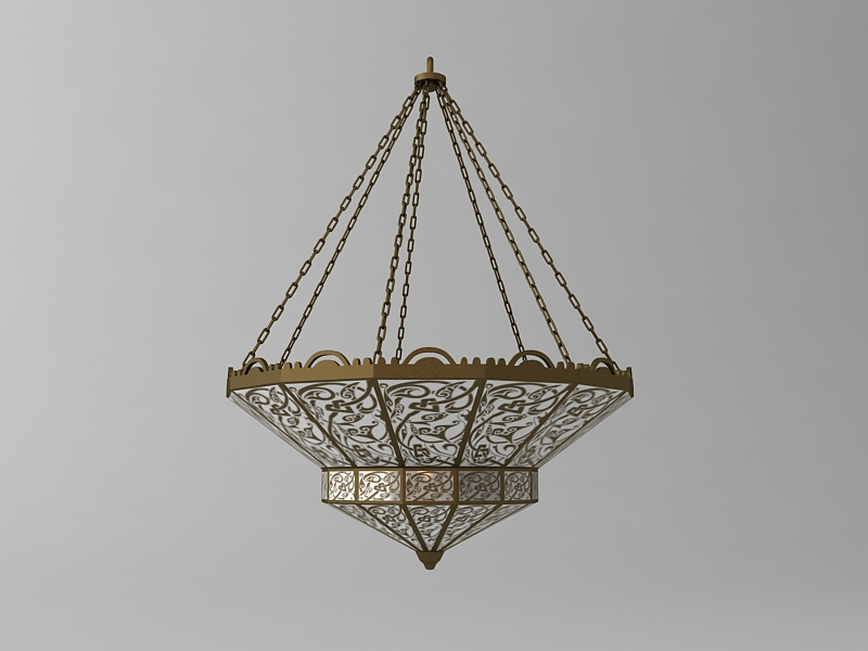 arabian chandelier 3d model 3ds max fbx texture 114811