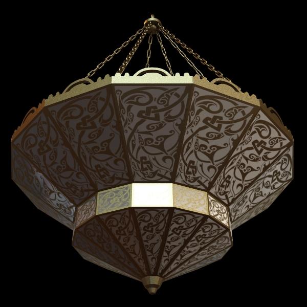 arabian chandelier 3d model 3ds max fbx texture 114812