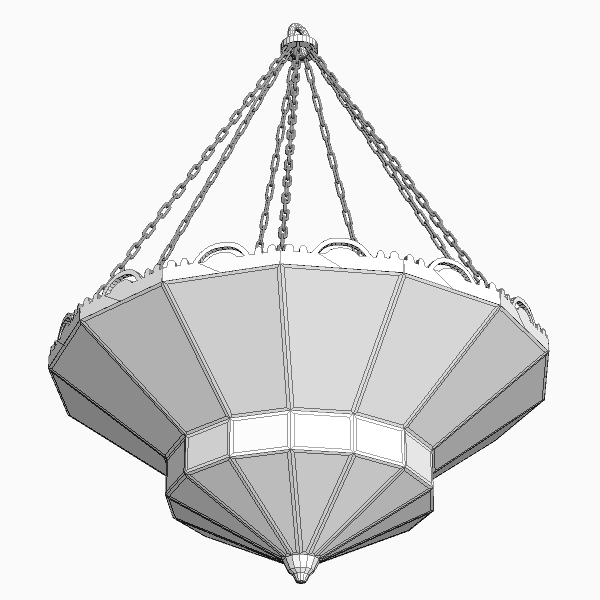 arabian chandelier 3d model 3ds max fbx texture 114813