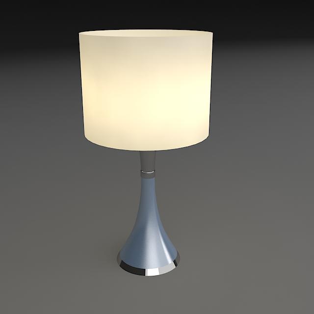 noćna svjetiljka 3d model 3ds max dxf fbx jpeg jpg obj 114963