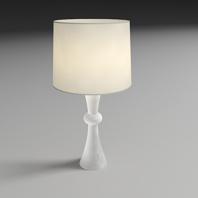 bedside lamp 3d model 3ds max dxf fbx jpeg jpg obj 114968