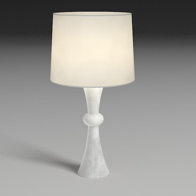 bedside lamp 3d model 3ds max dxf fbx jpeg jpg obj 114969