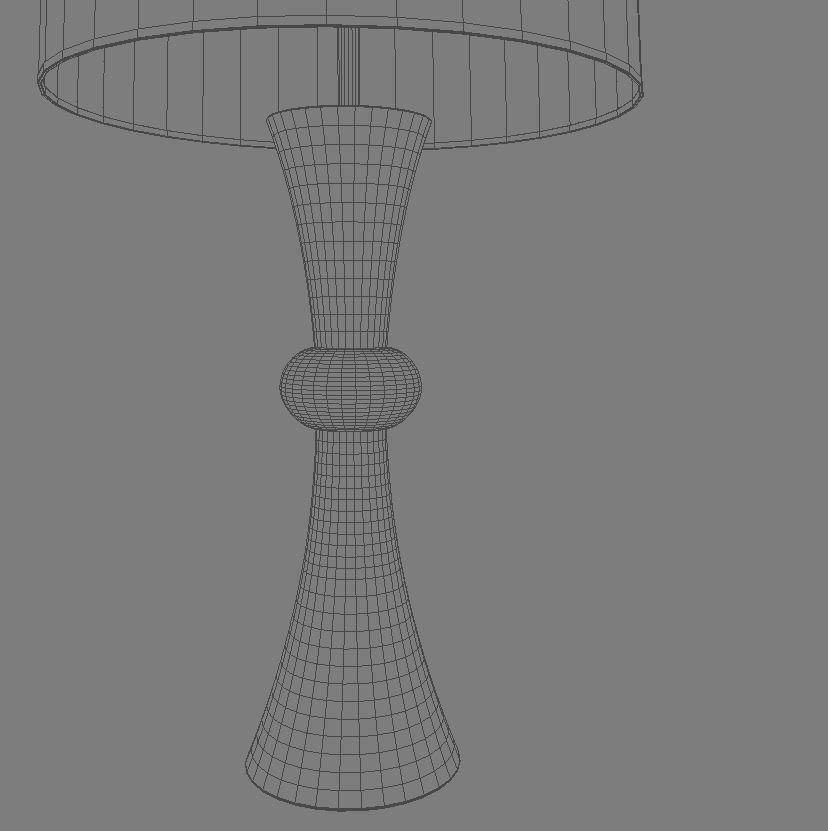 bedside lamp 3d model 3ds max dxf fbx jpeg jpg obj 114970