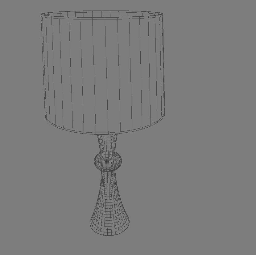 bedside lamp 3d model 3ds max dxf fbx jpeg jpg obj 114971