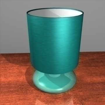 bedside lamp 3d model 3ds max fbx c4d lwo obj 92609