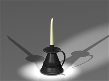 candle holder1 3d model 3ds dxf lwo 81034