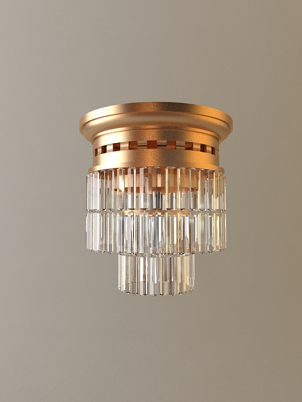 ceiling light fixture 3d model 3ds max fbx obj 114815
