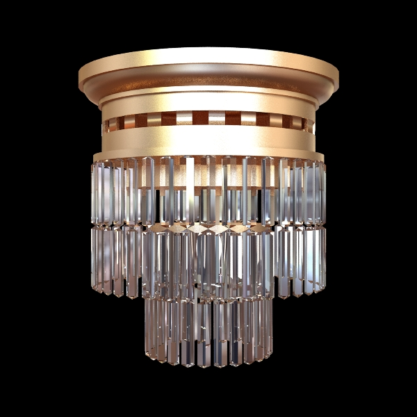 ceiling light fixture 3d model 3ds max fbx obj 114816
