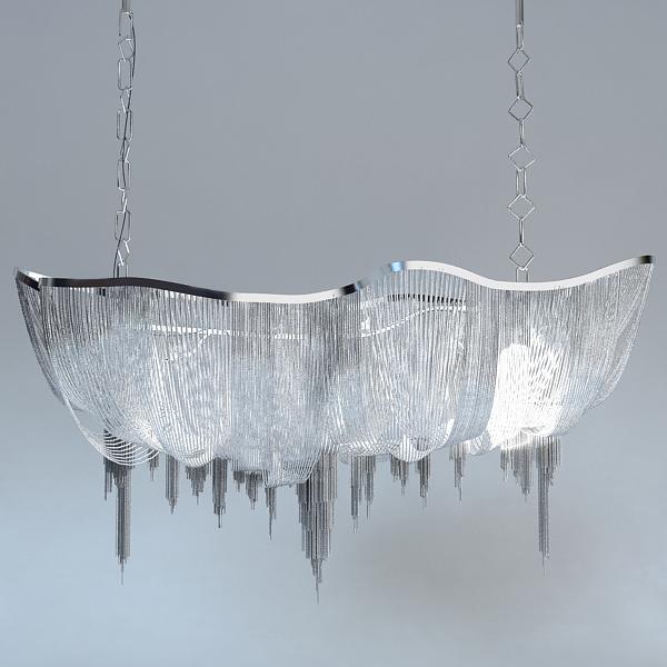 chandelier terzani atlantis 3d model 3ds max fbx 120833