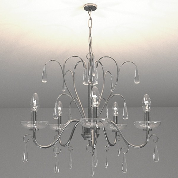 contemporary chandelier 5 3d model 3ds fbx skp obj 115279