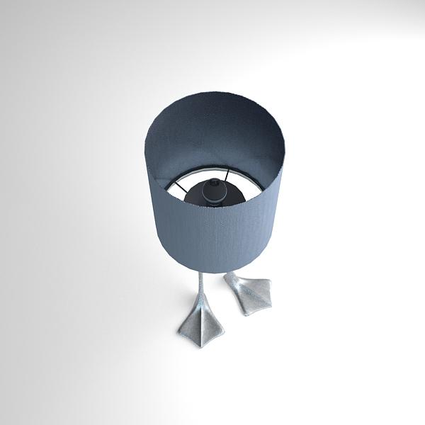 duck foot lamp 3d model 3ds max fbx texture obj 121092