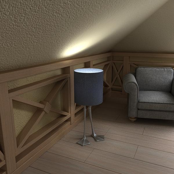 duck foot lamp 3d model 3ds max fbx texture obj 121093