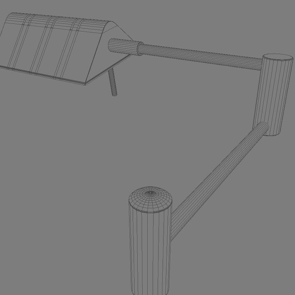 floor lamp 3d model 3ds max dxf fbx obj 114890
