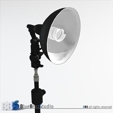 fluorescent light 3d model 3ds dxf c4d obj 111587