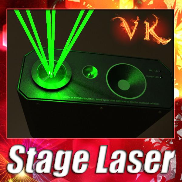 лазерний етап світла 06 3d модель 3ds max fbx obj 130769
