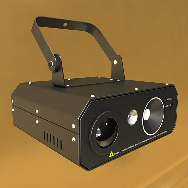 golau cam laser model 06 3d 3ds max fbx obj 130770