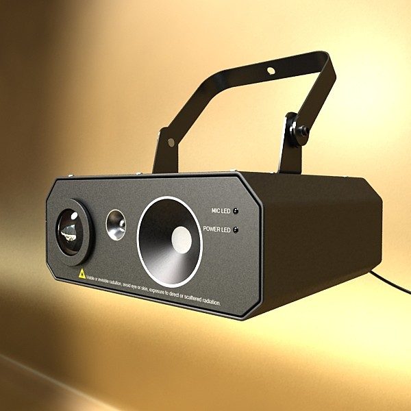 golau cam laser model 06 3d 3ds max fbx obj 130771
