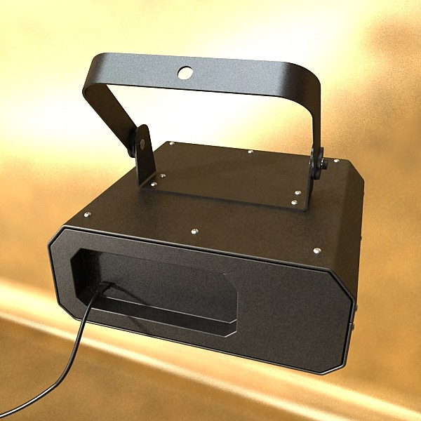 golau cam laser model 06 3d 3ds max fbx obj 130773