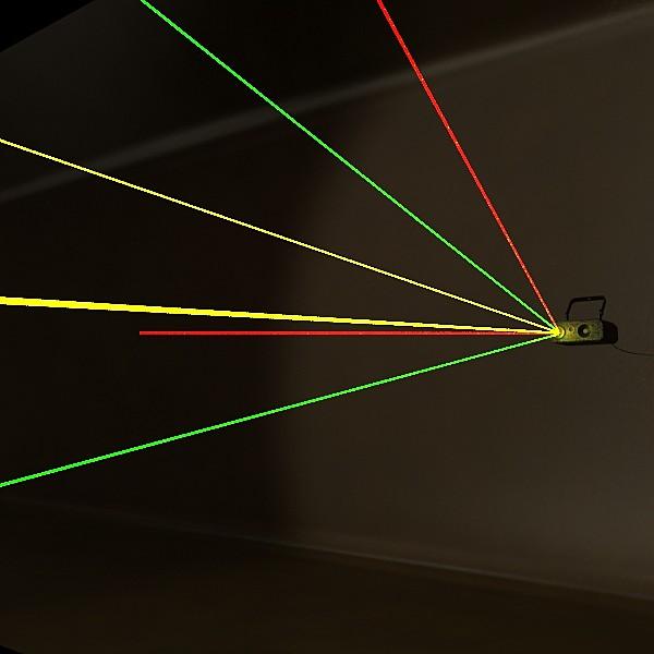 lazer mərhələ işığı 06 3d modeli 3ds max fbx obj 130779
