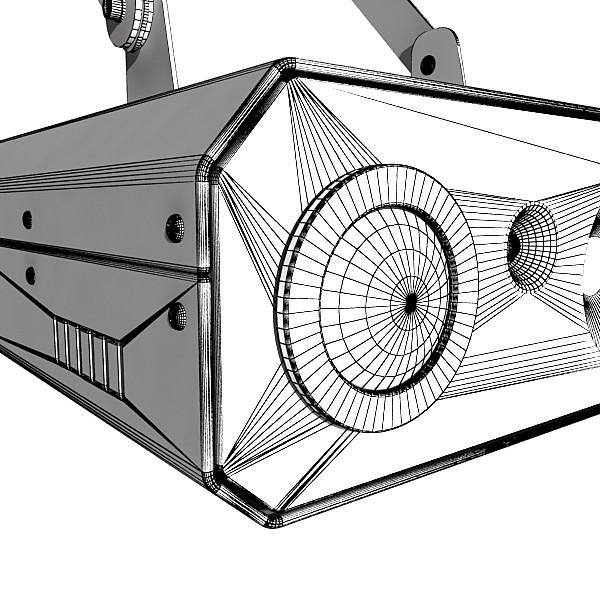 lazer mərhələ işığı 06 3d modeli 3ds max fbx obj 130781