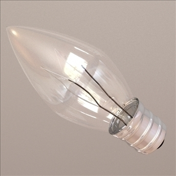 mini light bulb 3d model 3ds max lwo obj 106291