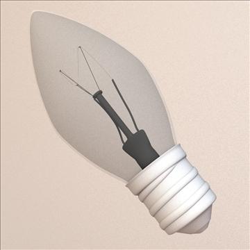 mini light bulb 3d model 3ds max lwo obj 106294