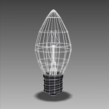 mini light bulb 3d model 3ds max lwo obj 106295