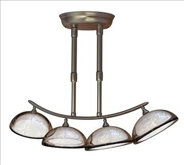 nútíma chandeliers 3d líkan obj 96898