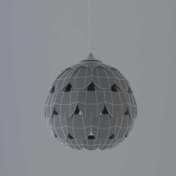 modern colour of old silver lamp 3d model 3ds max fbx texture obj 117757