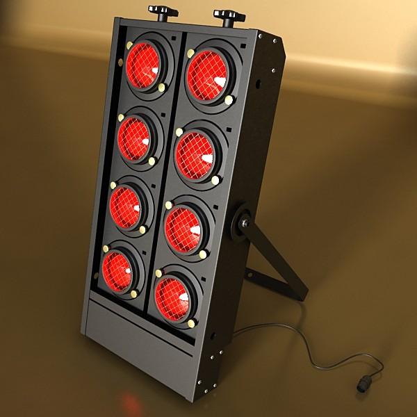moving head led stage light 03 3d model 3ds max fbx obj 130738