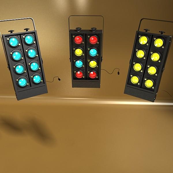 moving head led stage light 03 3d model 3ds max fbx obj 130743