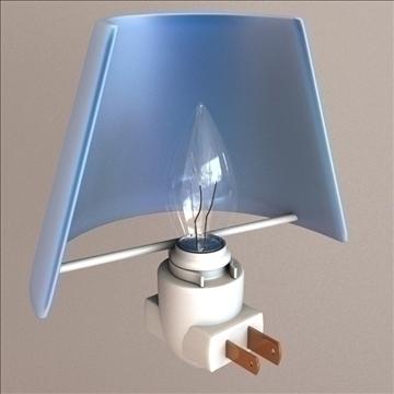 night light 3d model 3ds max lwo obj 106307
