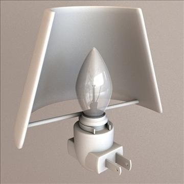 night light 3d model 3ds max lwo obj 106309