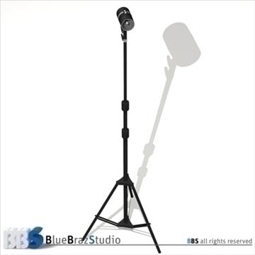 strobe light 3d model 3ds dxf c4d obj 104132