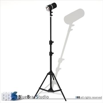 strobe light 3d model 3ds dxf c4d obj 104133