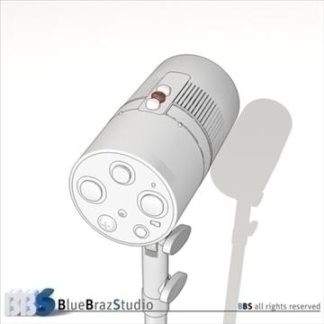 strobe light 3d model 3ds dxf c4d obj 104134