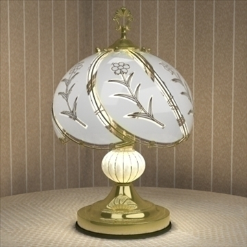 table lamp 01 3d model 3ds max 93040