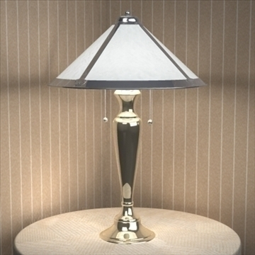 table lamp 03 3d model 3ds max 93050