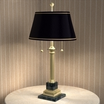 table lamp 20 3d model 3ds max 93070