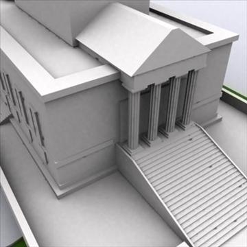 george washington masonic templis 3d modelis 3ds max 98220