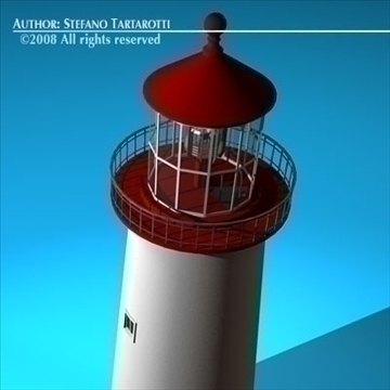 lighthouse 3d model 3ds dxf c4d obj 89856