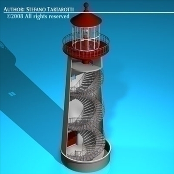 lighthouse 3d model 3ds dxf c4d obj 89859
