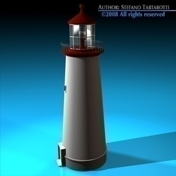 lighthouse 3d model 3ds dxf c4d obj 89862