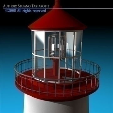 lighthouse 3d model 3ds dxf c4d obj 89863