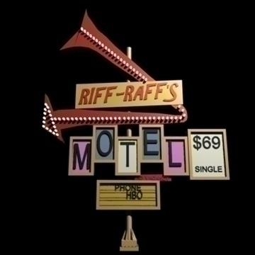 motel signs x 5 3d model 3ds 95866
