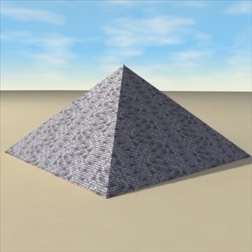piramīda. 3d modelis 3ds max c4d ma mb 3dm pz3 pp2 citi 94895