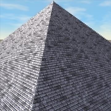 piramīda. 3d modelis 3ds max c4d ma mb 3dm pz3 pp2 citi 94896